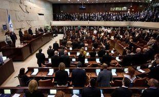 La Knesset, le parlement israélien qui siège à Jérusalem.