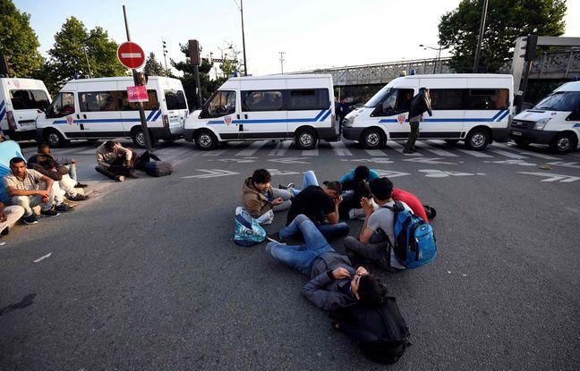 Les autorités ont précédé le 7 juillet 2017 au matin et dans le calme à l'évacuation de plus de 2.000 migrants installés dans des campements sauvages dans le nord de Paris.