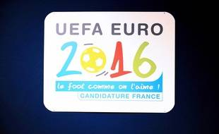L'affiche de l'Euro 2016 qui aura lieu en France du 10 juin au 10 juillet.