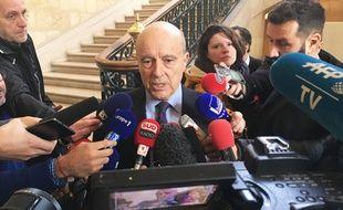 Alain Juppé, à l'hôtel de ville de Bordeaux le 9 janvier 2019.