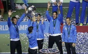 L'équipe d'Argentine soulève enfin la Coupe Davis à Zagreb