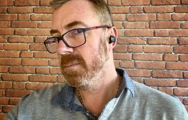Des écouteurs qui peuvent sembler un peu trop visibles.