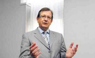 Alain Bruneel, chef de file du PC au conseil régional.