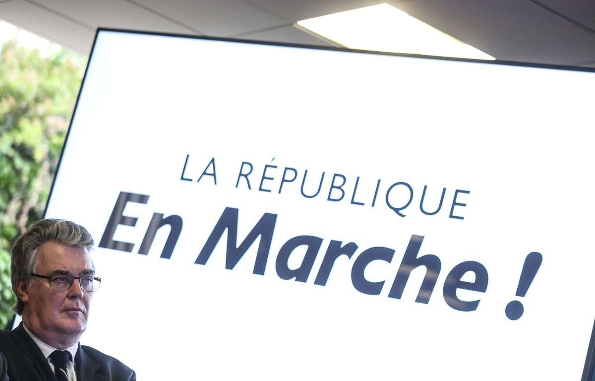 Jean-Paul Delevoye, responsable de la commission d'investiture de La République en marche. – Hamilton / SIPA