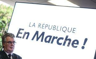 Jean-Paul Delevoye, responable de la commission d'investiture de La République en marche.