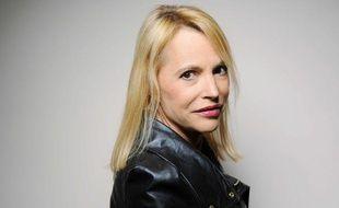 Laure Adler a participé mercredi au palmarès des best-sellers 2011 de L'Express au Bristol, à Paris.