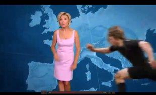 Capture d'écran d'un spot publicitaire de TF1