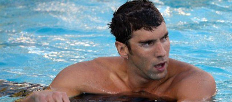 Pour son retour, Michael Phelps n'a pris que la 7e place du 100 m nage libre des championnats des Etats-Unis, le 6 août 2014, à Irvine (Californie).