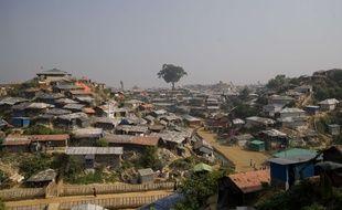 Un camp de réfugiés rohingyas près de Cox's Bazar, au Bangladesh, le 17 novembre 2018.