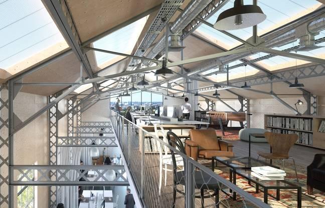Le projet Food Factory prévoit un espace de coworking de 2.600 m2