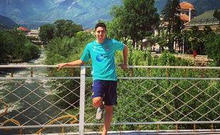 Samir Nasri à Merano le 14 mai 2015.