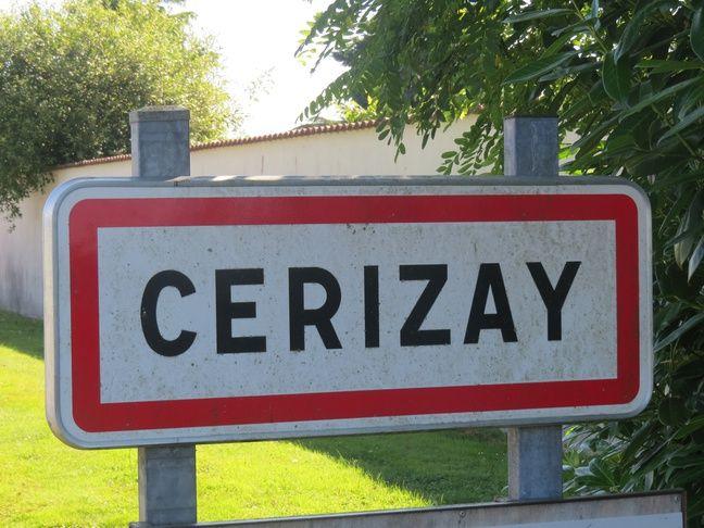 La commune de Cerizay.