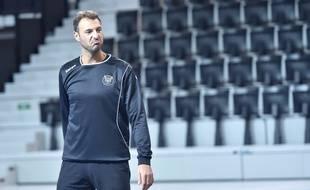 Jérôme Fernandez «not impressed», lors d'un entraînement à l'Arena.