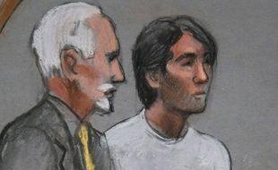 Khairullozhon Matanov, le 4e ami des frères Tsarnaev condamné à de la prison. Ici, le 24 mars 2015.