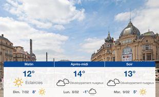 Météo Montpellier: Prévisions du samedi 6 février 2021