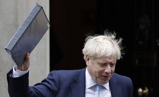 Boris Johnson quitte Londres pour Bruxelles, le 3 octobre 2019.