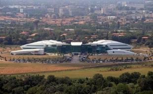 le bâtiment Pierre Fabre sur le site du Cancéropôle de Toulouse