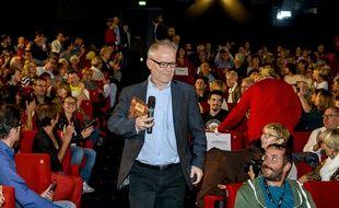 Thierry Frémaux en octobre 2017 au Festival des Lumières à Lyon