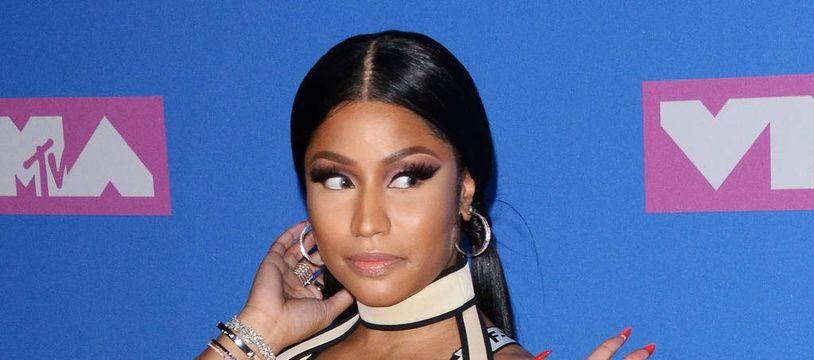 La rappeuse Nicki Minaj