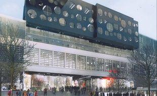 Boulevard MacDonald,lle Cargo accueillera à partir de novembre 50 start-up au sein de son incubateur.
