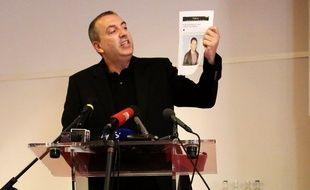 L'animateur Jean-Marc Morandini, lors de sa conférence de presse du 19 juillet 2016.