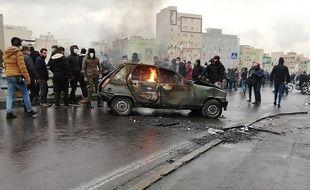 Des manifestations ont éclaté en Iran, le 15 novembre 2019, après l'annonce de l'augmentation du prix de l'essence.