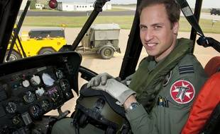 Le prince William en juin 2012.