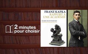 «Rapport à une académie» par Franz Kafka chez Lenka Lente (40p. + CD, 9€).