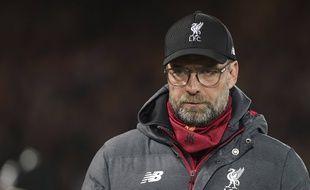 Jurgen Klopp, le coach de Liverpool, lors du match contre Sheffield United le 2 janvier 2020.