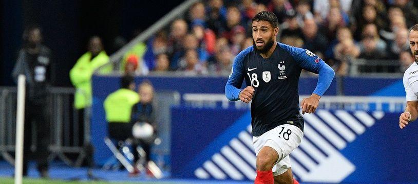 Nabil Fekir a signé une passe décisive après son entrée en jeu avec les Bleus, samedi soir contre l'Albanie.