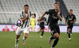 Le 7 août, Joachim Andersen était entré en jeu face à la Juventus de Cristiano Ronaldo pour préserver la qualification de l'OL (1-0, 1-2) pour le Final 8.