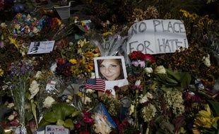 Heather Heyer a été fauchée par la voiture d'un suprémaciste blanc, le 12 août, à Charlottesville.