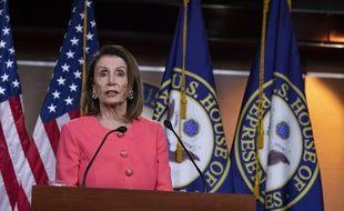 Nancy Pelosi, présidente démocrate de la Chambre des représentants.