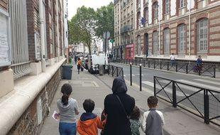 Plusieurs établissements scolaires du 18e de Paris sont soumis à la pollution atmosphérique.