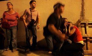 Les habitants de Sdérot (Israel) inquiets après qu'une roquette tirée depuis la bande de Gaza a fait une victime le 21 mai.