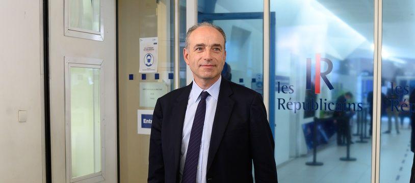 Jean-François Copé au siège de LR, à Paris le 6 juillet 2021.