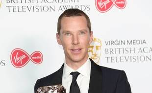 L'acteur Benedict Cumberbatch aux BAFTA