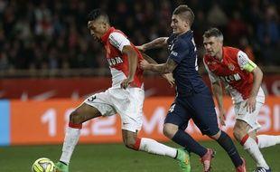 Monaco-PSG en Ligue 1, le 1er mars 2015.