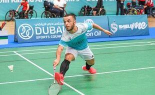 Charles Noakes lors d'un épreuve à Dubaï.