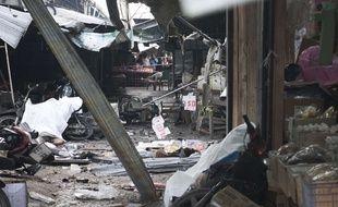 L'explosion d'une bombe sur un marché dans le sud de la Thaïlande a fait trois morts, lundi 22 janvier 2018.