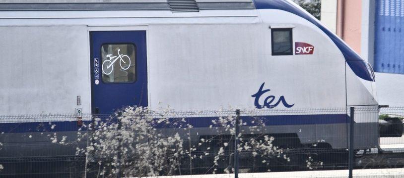 Un TER en gare (photo d'illustration).