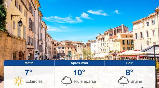 Météo Aix-en-Provence: Prévisions du lundi 18 novembre 2019 - 20minutes.fr