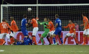 Les Pays-Bas se sont inclinés en Islande le 13 octobre 2014.