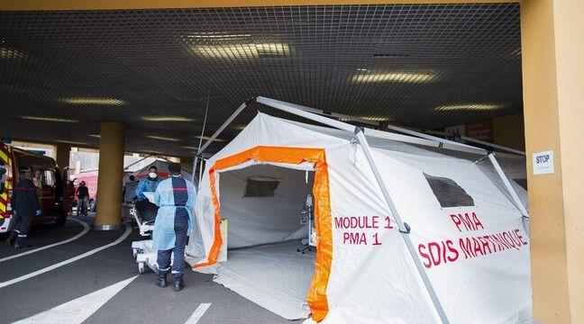 Image Coronavirus en Martinique : Trois malades transférés en Ile-de-France
