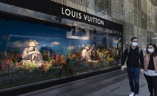 Un magasin Louis Vuitton à Hong-Kong.