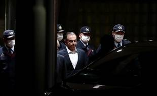 Carlos Ghosn, le 25 avril 2019 à Tokyo.