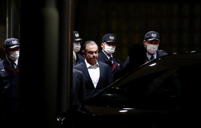 L'ex-PDG de Renault-Nissan Carlos Ghosn a quitté le Japon pour Beyrouth