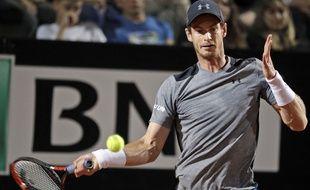 Andy Murray contre Fabio Fognini, à Rome.