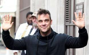 Robbie Williams à Londres, le 17 septembre 2012.
