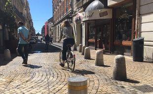 La rue de Verdun à Montpellier est piétonne depuis ce mercredi matin.